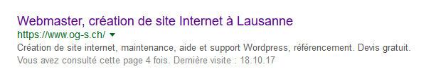 Balise title Google