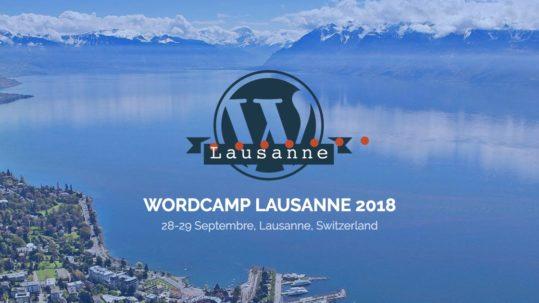 WordCamp Suisse à Lausanne